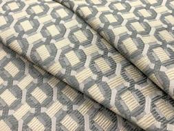 Armani / Casa Small Scale Geometric Silk Fabric- Montreal /