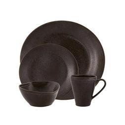Casa Alegre Bronze Stoneware 16 Pieces Place Setting Dinnerw