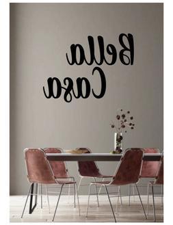 Casa Bella - Beautiful Home Italian Word Vinyl Wall Decal St