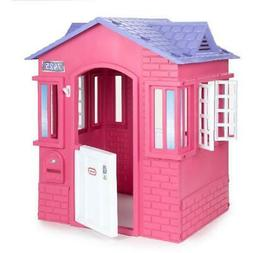 Casa de Juegos Para Niñas Color Rosa Regalo de Navidad Cump