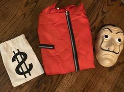 Casa de papel Money Heist Salvador Dali Costume Mask Unisex