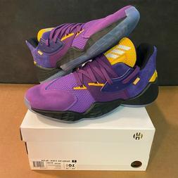 adidas Harden Vol. 4 GCA Su Casa LA Los Angeles Lakers Size