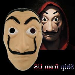 La Casa De Salvador Dali Money Heist The House of Paper Mask