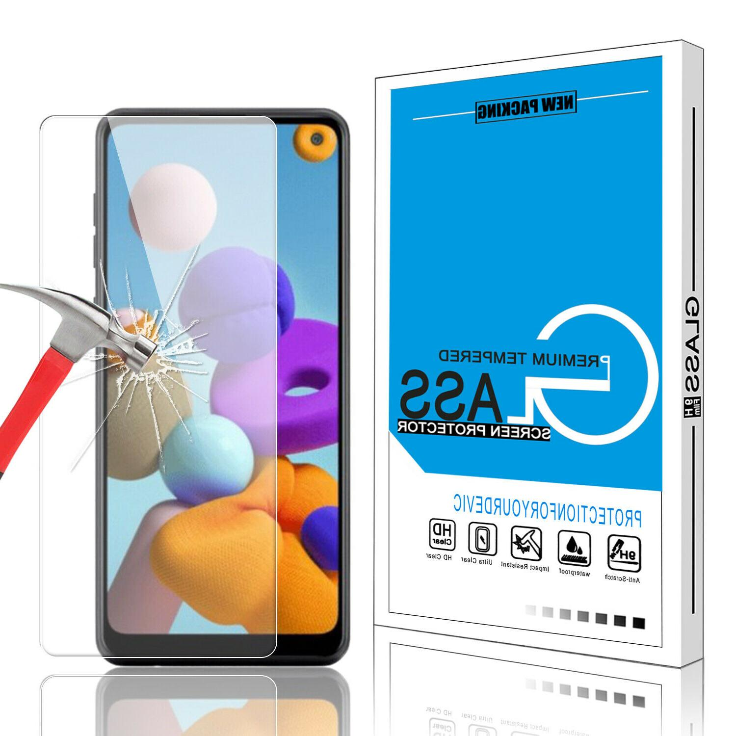 For Samsung Galaxy Case,Liquid Phone Cover+Tempered Screen