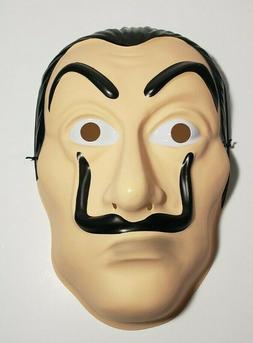 Money heist salvador Dali Masks La Casa De Papel  Cosplay PV
