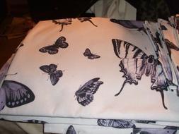 "NEW Casa Zeta-Jones Butterfly 60"" x 102"" Table Cloth w/ 6 Na"