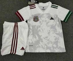 NWT Adidas Mexico Soccer Home Casa Blanco White Kids Soccer