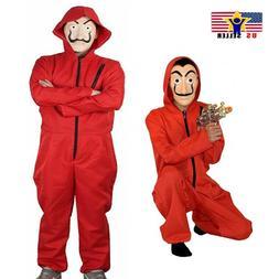 Salvador Dal Money Heist La Casa De Papel Face Mask Clothes