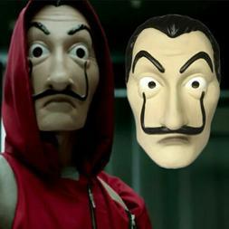 La Casa De Papel Face Mask Salvador Dali Mascara Money Heist