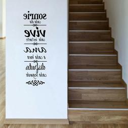 Spanish Version House Rules NORMAS DE CASA Vinyl Wall Sticke