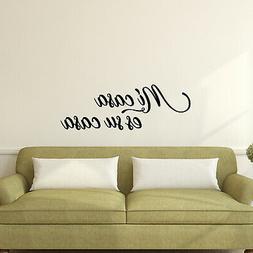 Vinyl Wall Art Decal - Mi Casa ES Su Casa - 10.5* x 30* - De