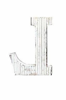 Kaizen Casa Wooden Letter Alphabet L Vintage Handcraft Wall